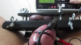 Electro Stimulation with Ballcrusher & Erostek ET-312B
